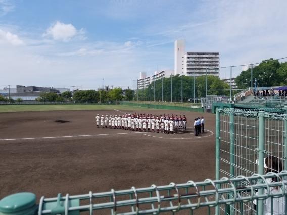 関西秋季大会 大阪中央支部予選 2回戦突破!